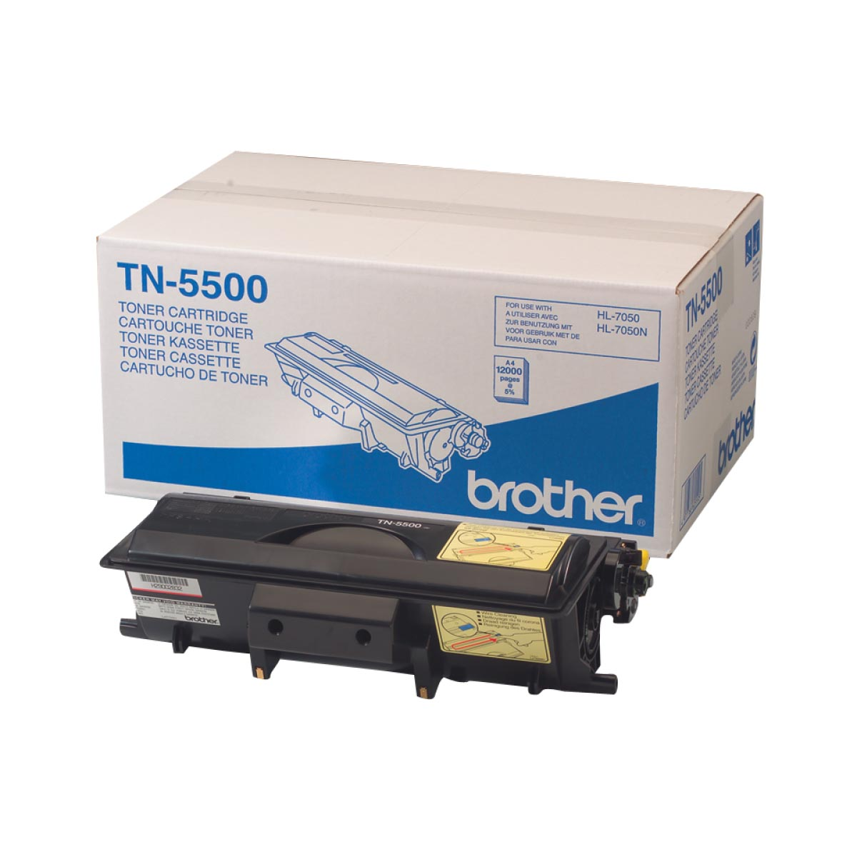 Cartucho de tóner original Brother TN5500 negro