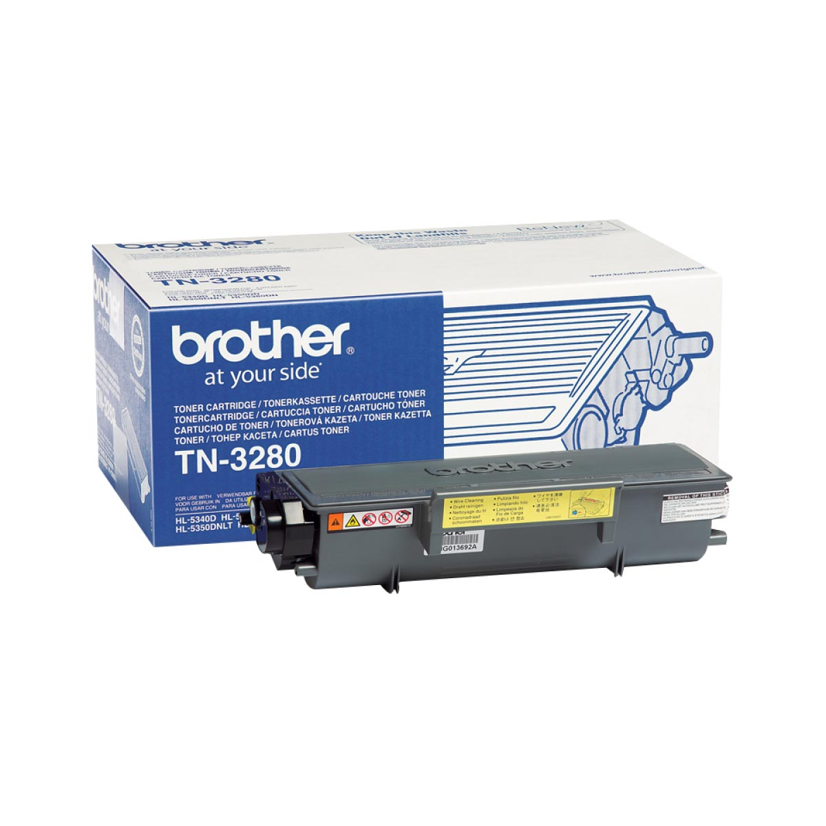 Cartucho de tóner original Brother TN3280 alta capacidad negro