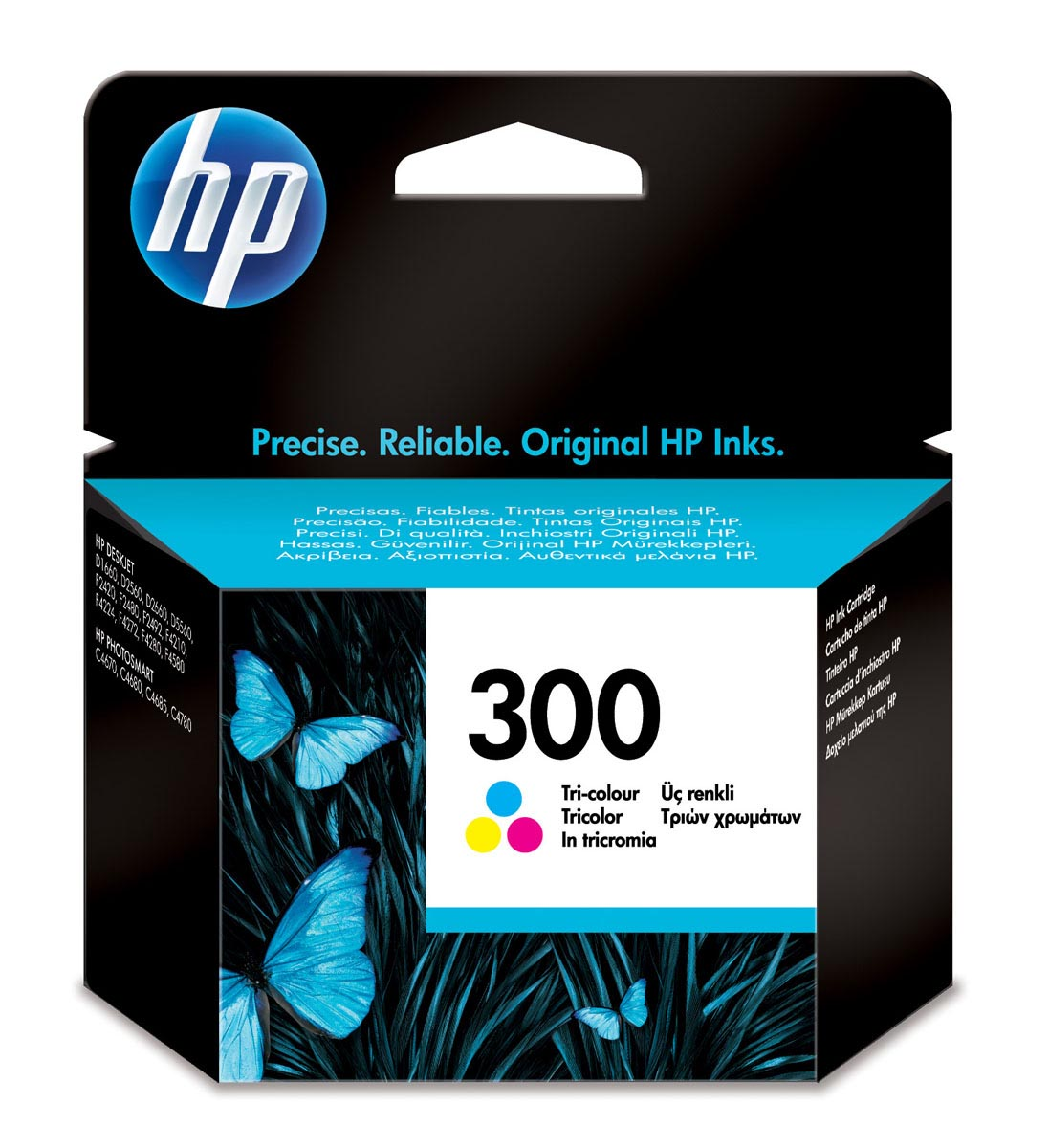 CC643EE | HP 300 TRI-COLOR CARTUCHO TINTA ORIGINAL