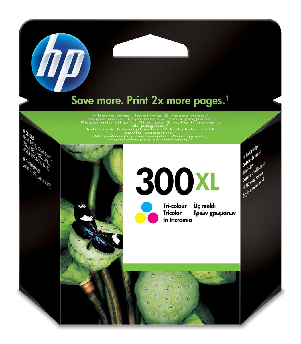 CC644EE | HP 300 TRI-COLOR CARTUCHO TINTA ORIGINAL