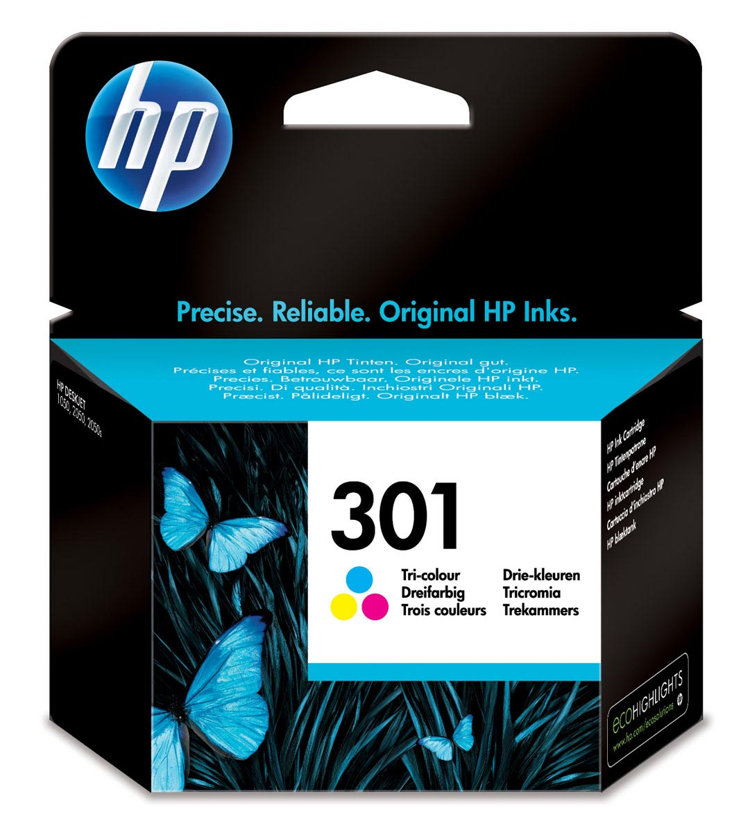 CH562EE | HP 301 TRI-COLOR CARTUCHO ORIGINAL IMPRESORA