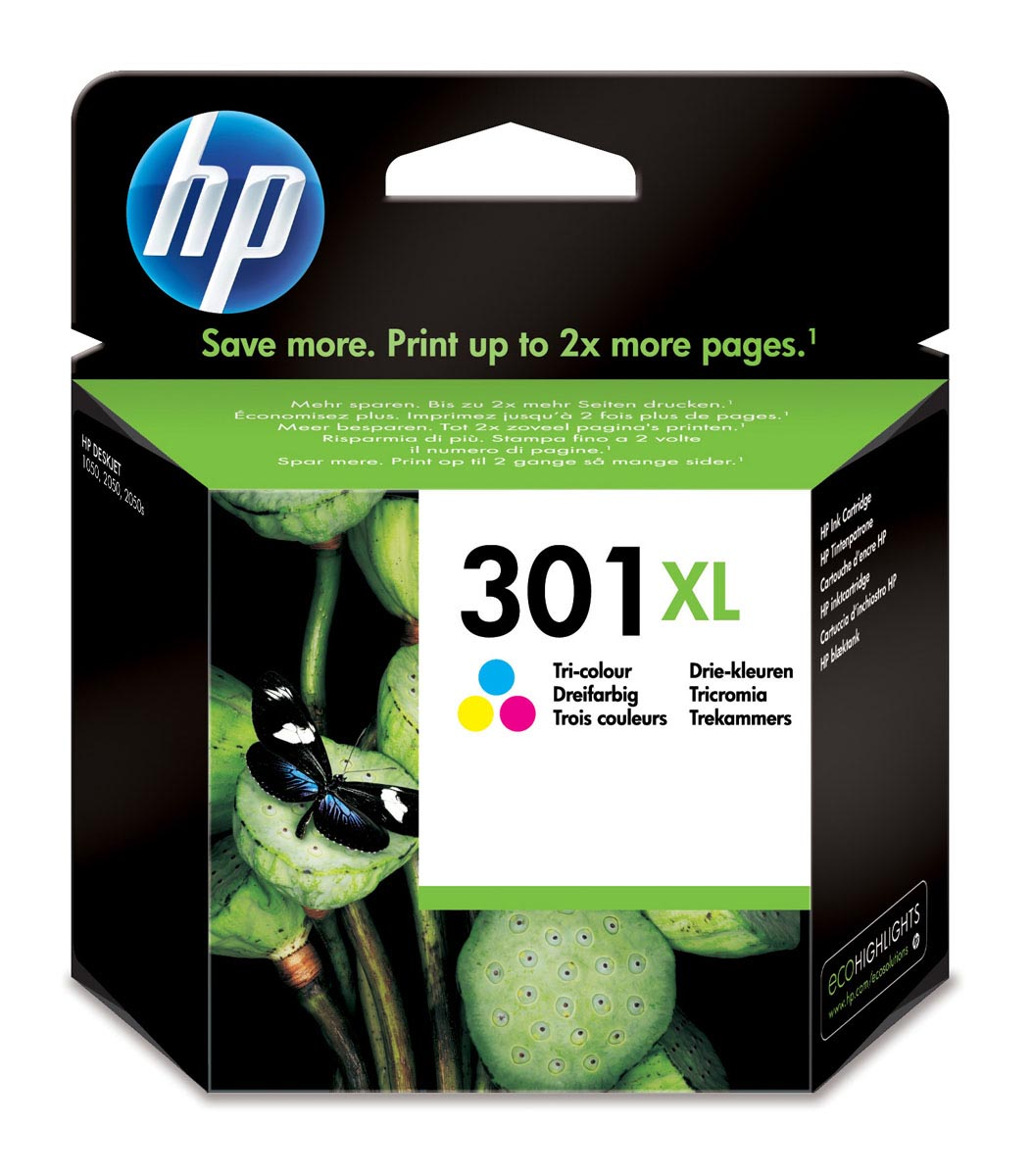 HP 301XL COLOR CARTUCHO TINTA ORIGINAL | CH564EE