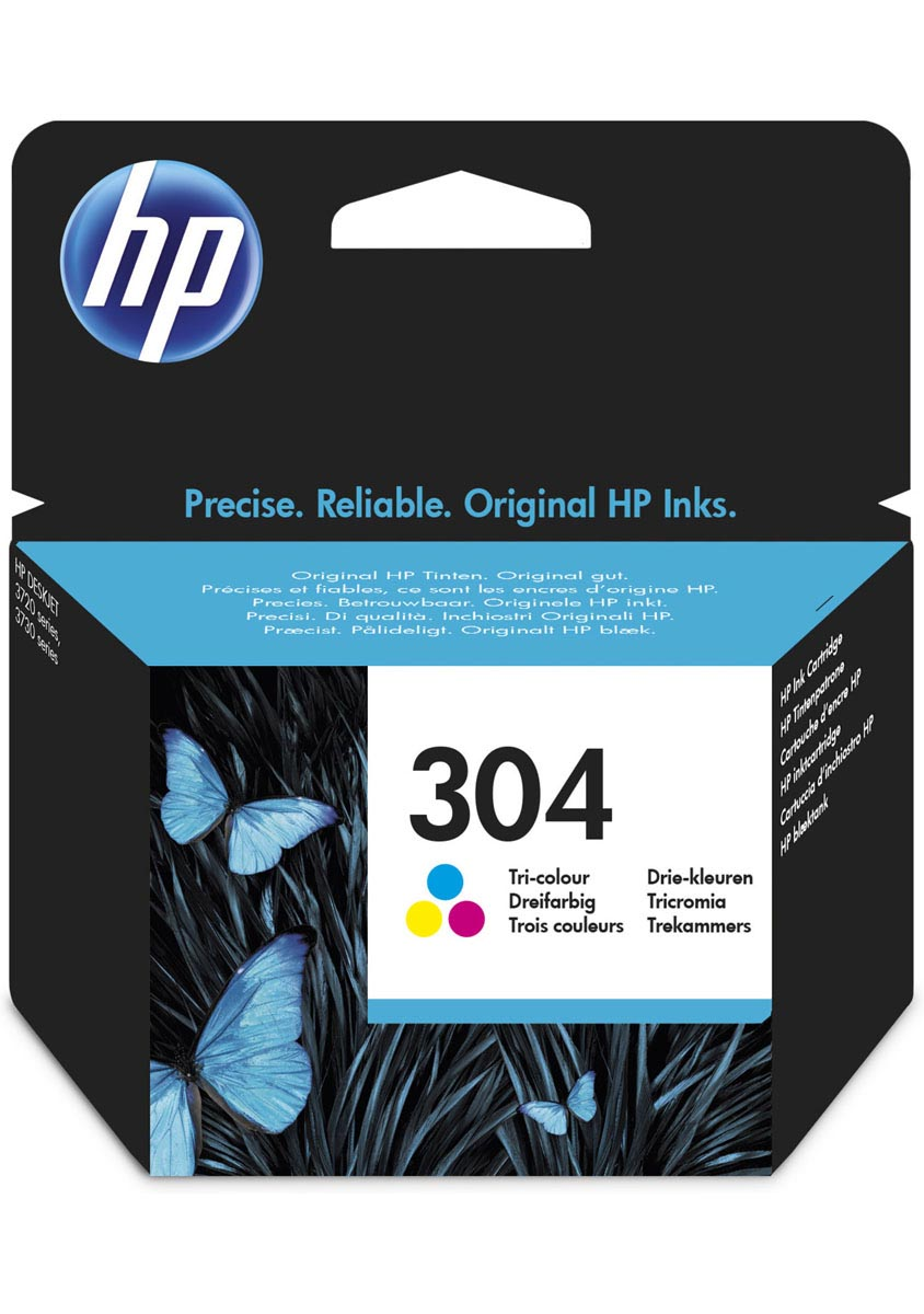 HP 304 TRI-COLOR CARTUCHO TINTA ORIGINAL | N9K05AE